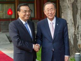 Ban Ki-moon: China must offer global climate 'leadership'