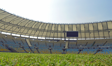 Opened in 1950, the Estádio do Maracanã has a capacity of 78,838