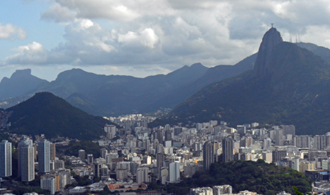 Despite its stunning beaches and views, Rio, like many of Brazil's cities, faces tough economic and social problems